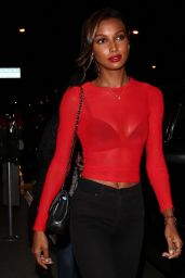 Jasmine Tookes Night Out - Catch LA in West Hollywood 11/04/2017