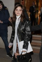 Jenna Coleman Style - Leaving Vogue Gingernutz Event in London 11/21/2017