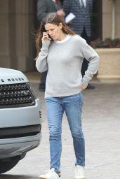 Jennifer Garner - Outside of the Montage Hotel in Beverly Hills 11/02/2017
