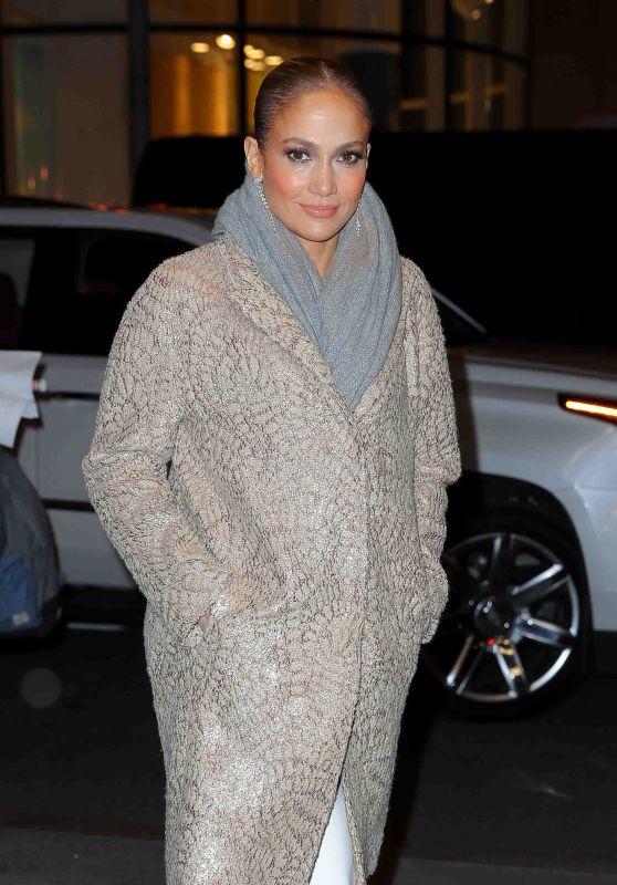 Jennifer Lopez - Arriving at Rainbow Room in New York City 11/09/2017
