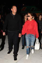 Jennifer Lopez - Leaving the University of Miami Football Game 11/04/2017