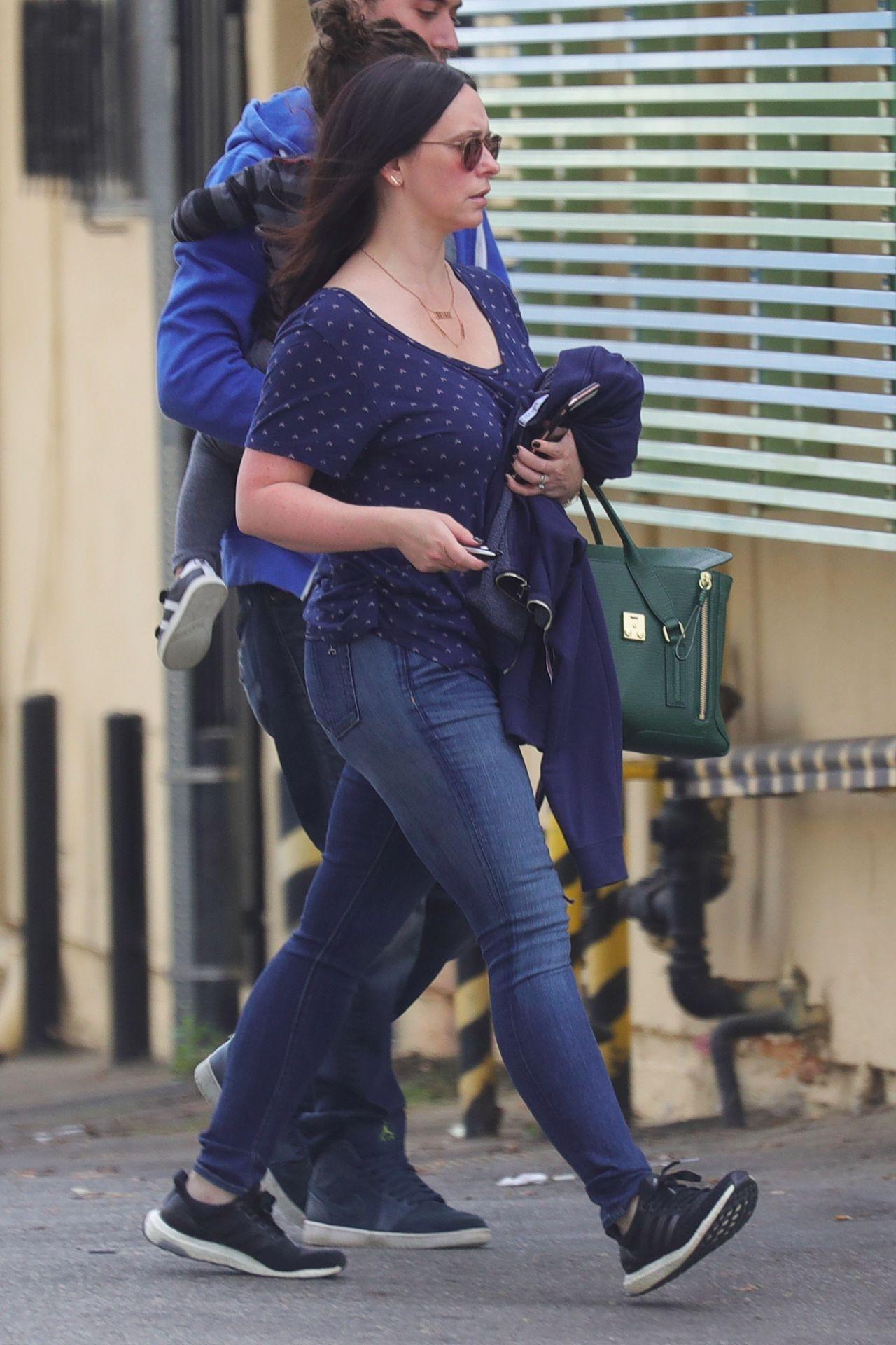 Jennifer Love Hewitt Street Style - Brentwood 11/15/2017