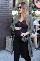 Jessica Alba - Shopping in West Hollywood 11/22/2017