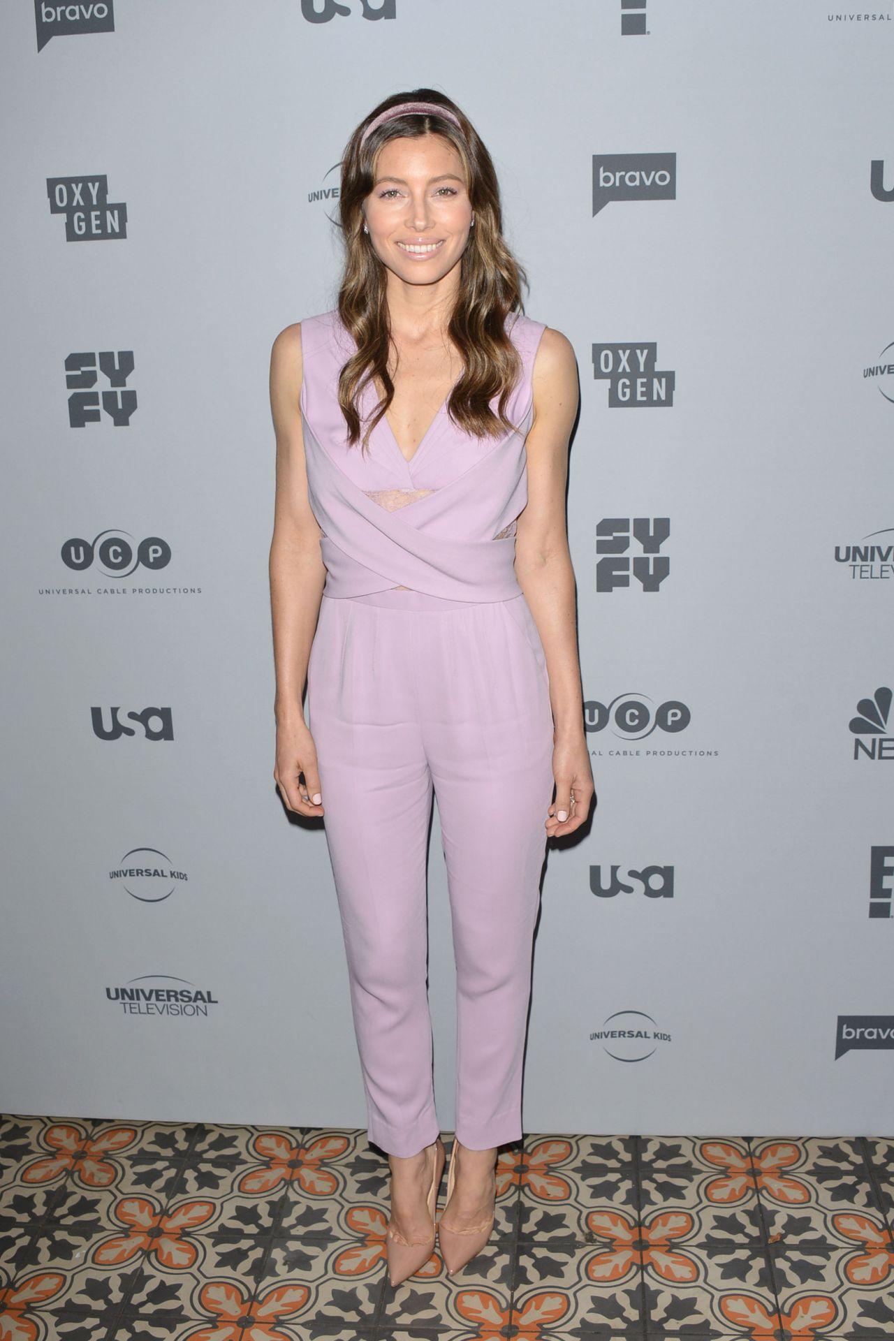 Jessica Biel – NBCUniversal Holiday Kick Off Event in LA ...