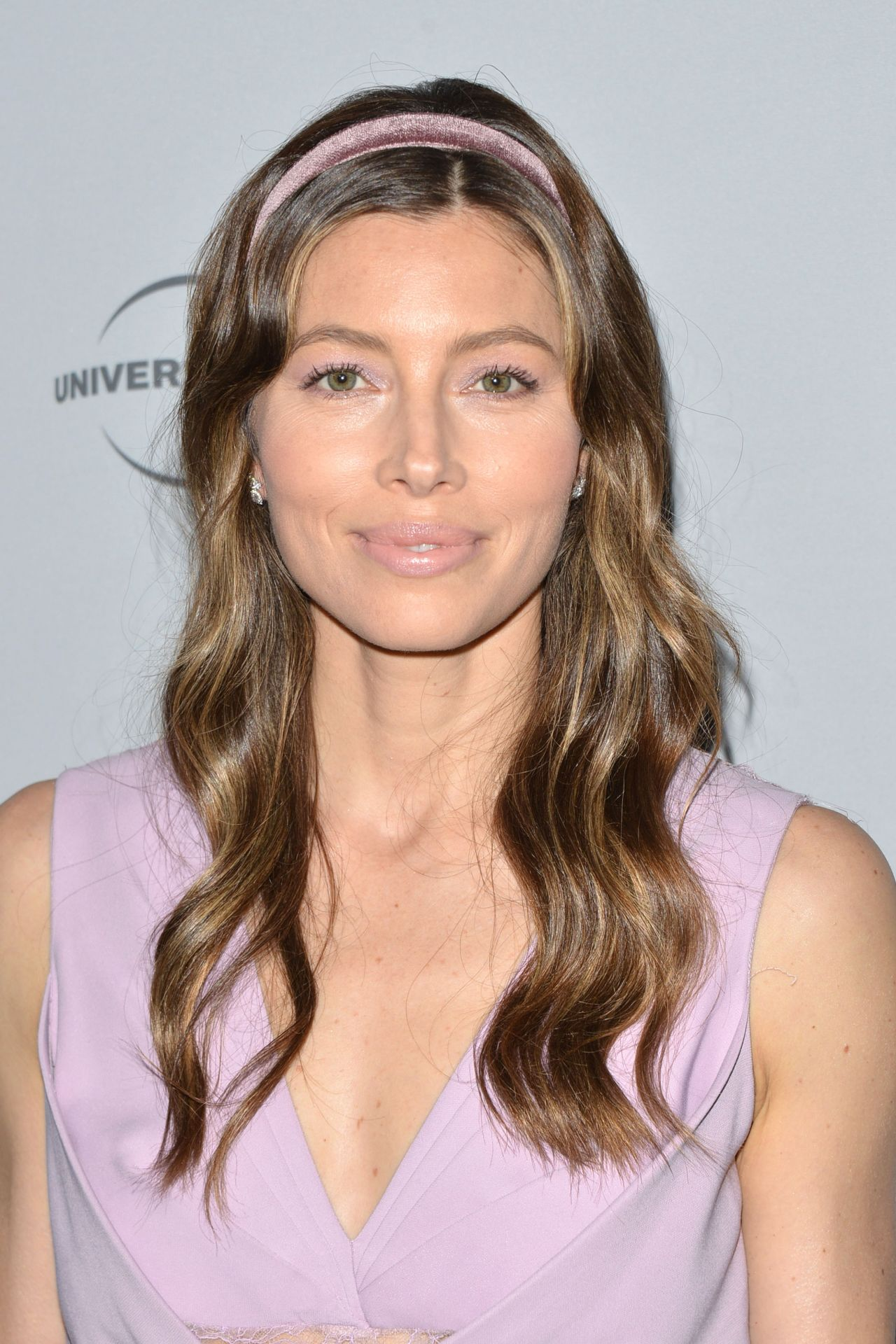 Jessica Biel Nbcuniversal Holiday Kick Off Event In La