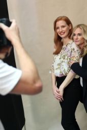 """Jessica Chastain and Holly Hunter – Variety's """"Actors on Actors"""" Studio in Los Angeles 11/11/2017"""