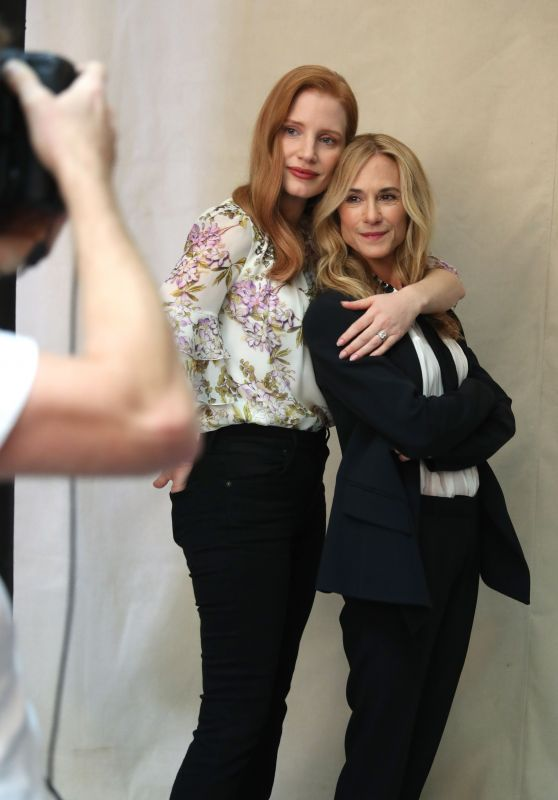 "Jessica Chastain and Holly Hunter – Variety's ""Actors on Actors"" Studio in Los Angeles 11/11/2017"
