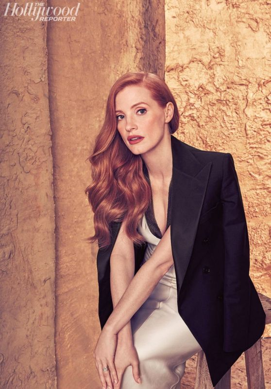 Jessica Chastain – Hollywood Reporter 2017 Actress Roundtable