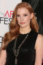 "Jessica Chastain - ""Molly's Game"" Premiere at AFI Fest in LA 11/16/2017"