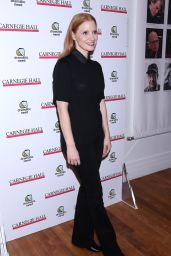 Jessica Chastain – The Children's Monologues Benefit in New York 11/13/2017