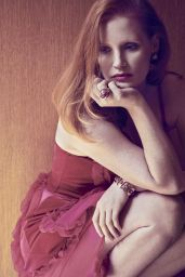 Jessica Chastain - Town & Country Magazine December 2017 Photos
