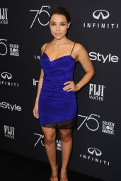 Jessica Parker Kennedy – HFPA and InStyle Celebrate Golden Globe Season in Los Angeles 11/15/2017