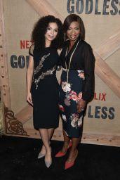 "Jessica Sula – ""Godless"" Premiere in New York 11/19/2017"