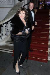 Joan Collins – The Global Gift Gala in London 11/18/2017