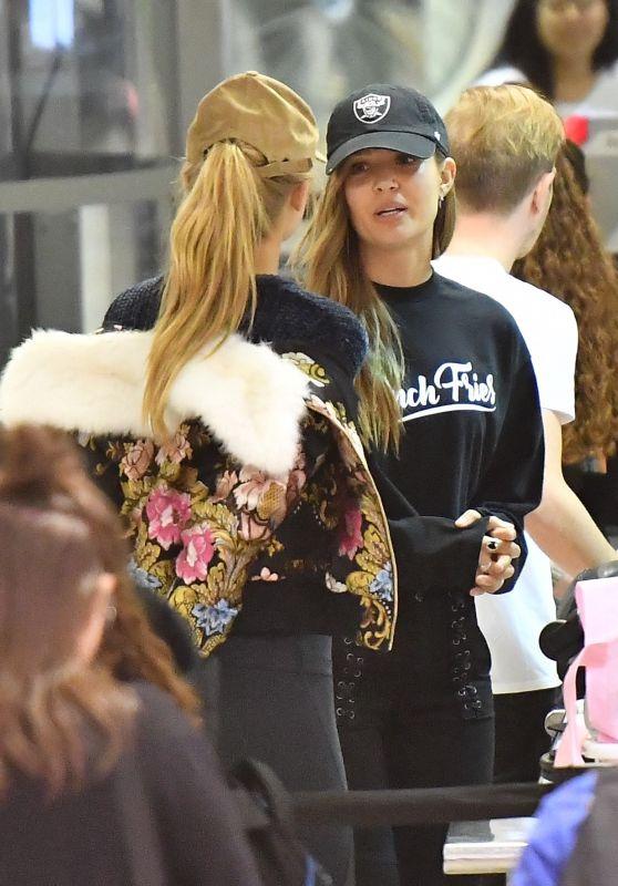 Josephine Skriver and Romee Strijd - LAX Airport in LA 11/08/2017