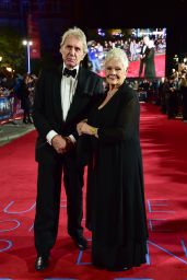 "Judi Dench – ""Murder on the Orient Express"" Red Carpet in London"