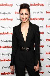 Julia Goulding at Inside Soap Awards 2017 in London