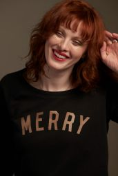 Karen Elson, Lauren Laverne, Poppy Delevingne, Laura Bailey - Save the Children's Christmas Jumper Day is Back for the Sixth Year Running, 2017