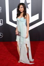 """Karen Fukuhara – """"Justice League"""" Red Carpet in Los Angeles"""