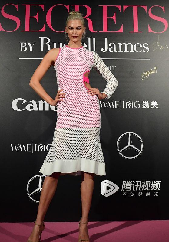 """Karlie Kloss - Mercedes-Benz """"Backstage Secrets"""" in Shanghai 11/18/2017"""