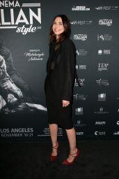 "Karolina Wydra – ""A Ciambra"" Screening, Cinema Italian Style in Los Angeles"