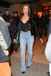 Kat Graham in Ripped Jeans - Leaving MTV TRL studios in NYC 11/22/2017