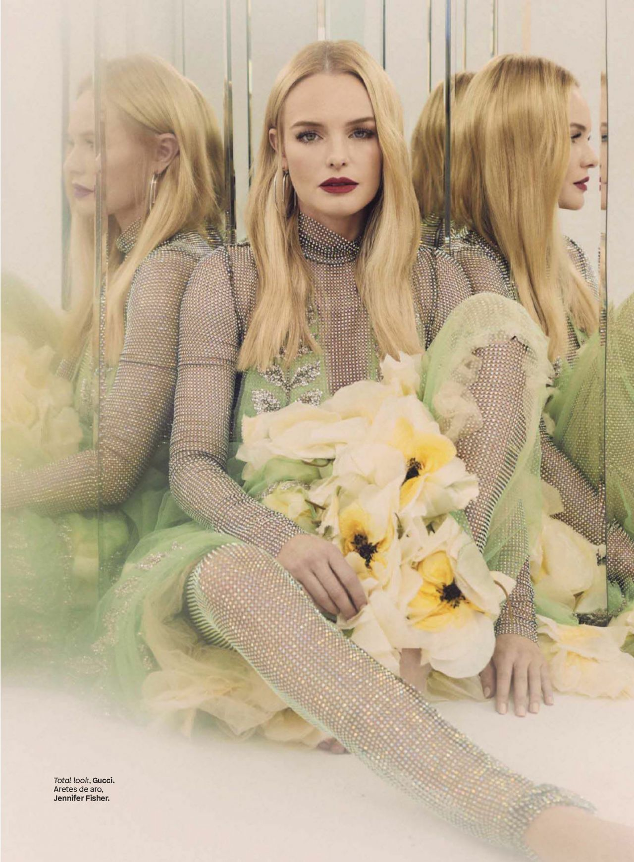 Kate Bosworth Glamour Magazine Mexico December 2017 Issue
