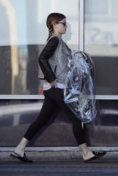 Kate Mara Casual Style - Leaves the Gym in Los Angeles 11/08/2017