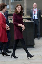 Kate Middleton - Arrives at UBS Building in London 11/08/2017
