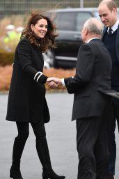 Kate Middleton at Jaguar Land Rover