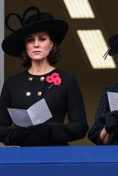 Kate Middleton - Remembrance Day Ceremony in London 11/12/2017