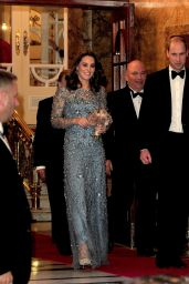 Kate Middleton - Royal Variety Performance Show in London 11/24/2017