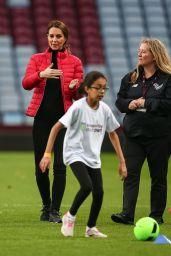 Kate Middleton - Visits Aston Villa Football Club in Birmingham 11/22/2017