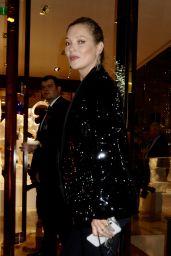 "Kate Moss – Louis Vuitton x Vogue ""Gingernutz"" Event in London"