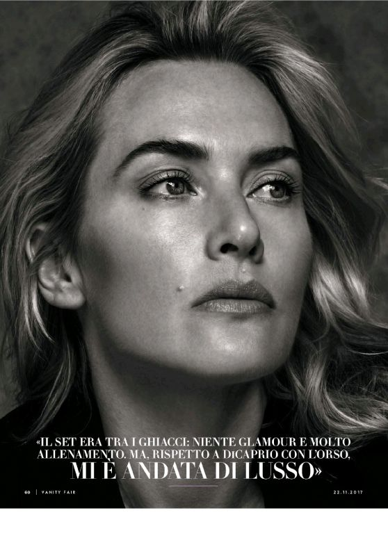 Kate Winslet - Vanity Fair Magazine Italy November 2017 Issue