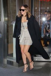 Katharine McPhee - Leaving SiriusXM in New York City 11/22/2017