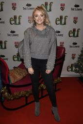 Katie McGlynn – Elf The Musical Press Night and Gala Performance in Manchester