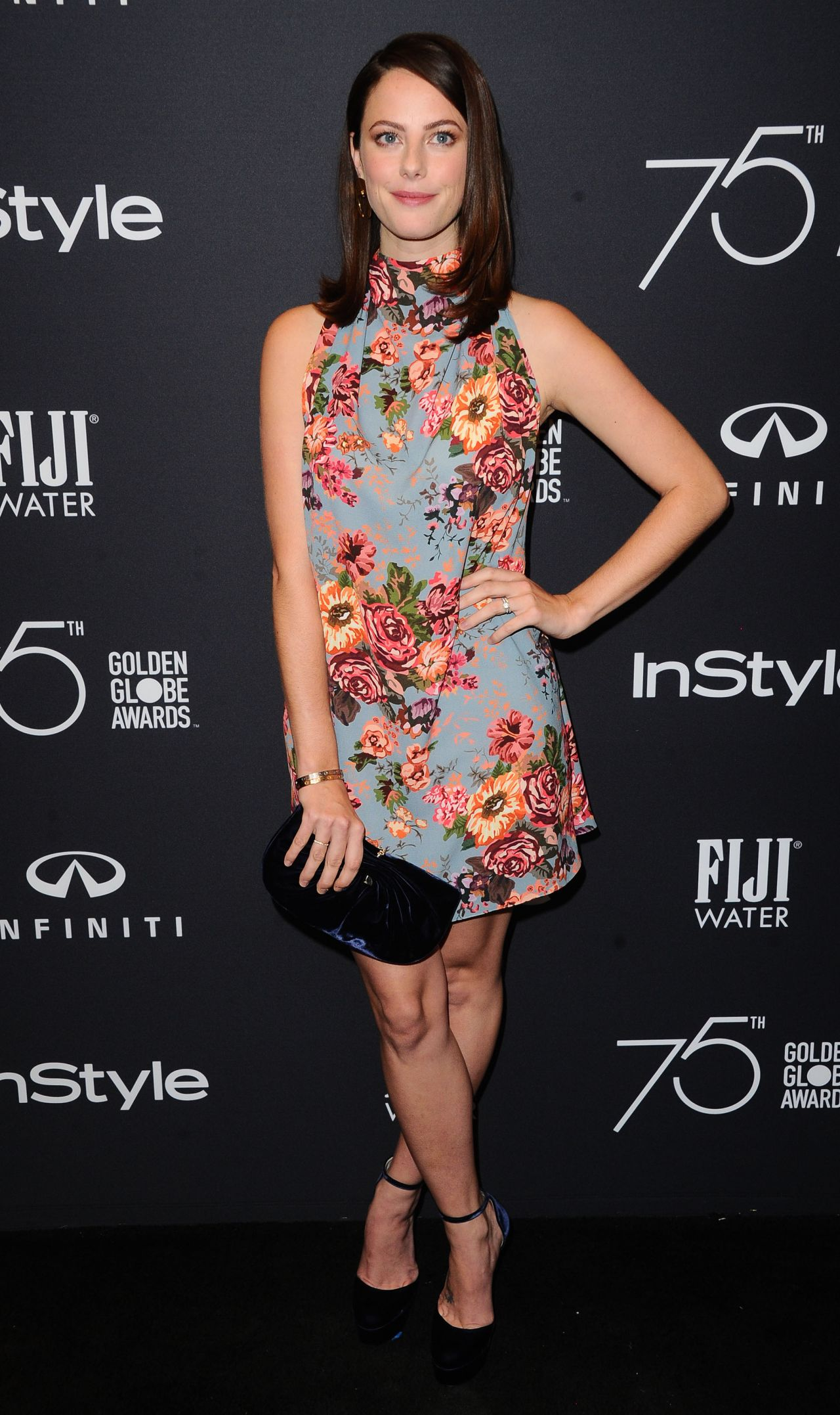 Kaya Scodelario – HFPA and InStyle Celebrate Golden Globe Season in Los Angeles 11/15/2017