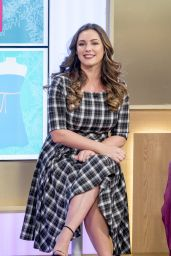 "Kelly Brook Appeared on ""This Morning"" TV Show in London 11/14/2017"