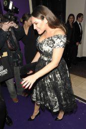 Kelly Brook - Leaving The British Takeaway Awards in London 11/27/2017