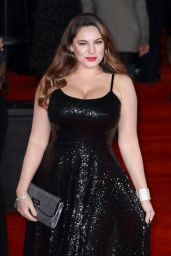 "Kelly Brook – ""Murder on the Orient Express"" Red Carpet in London"