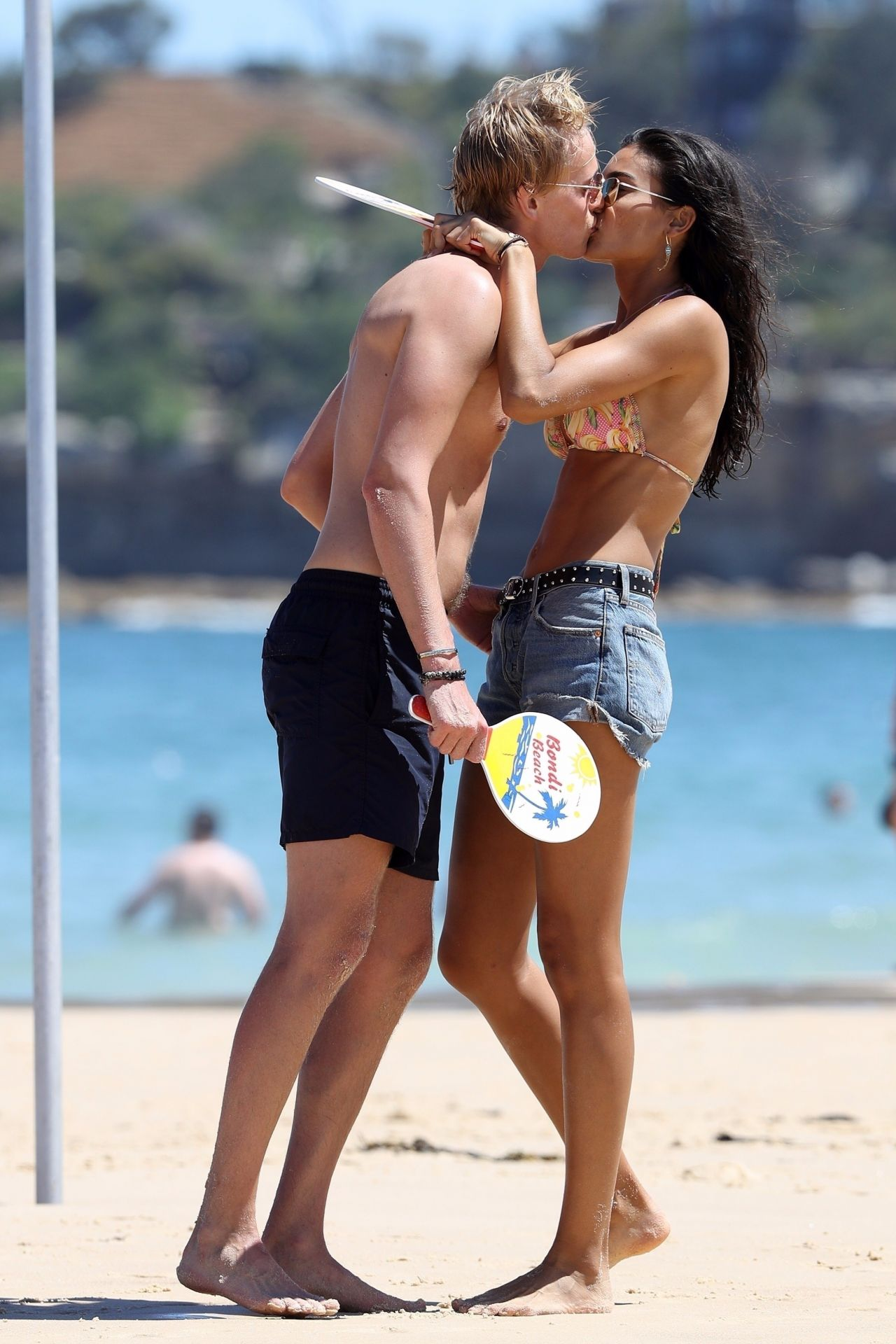 Kelly Gale in Bikini on Bondi Beach in Sydney Pic 28 of 35