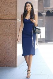 Kelly Gale Style - Arrives at a TV Studio in Sydney 11/24/2017