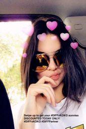 Kendall Jenner – Social Media 11/27/2017