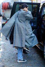 Kendall Jenner Wearing Balenciaga Coat - New York City 11/20/2017