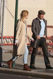 Kerry Bishe Fall Style - Soho, New York 11/25/2017