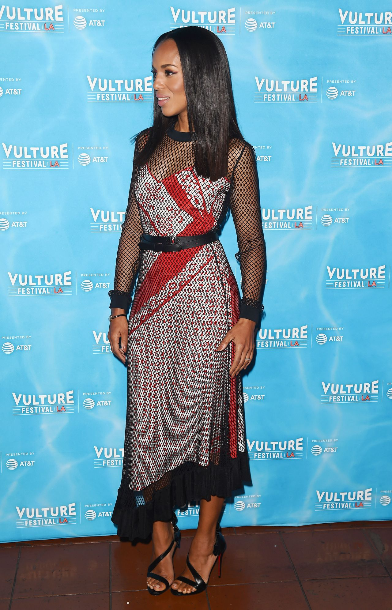 "Kerry Washington - ""Scandal: The Final Season"", Vulture Festival in LA 11/18/2017"