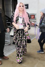 Kesha - Arriving at BBC Live Lounge in London 11/15/2017