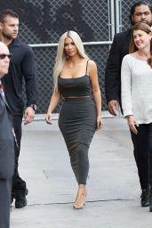 "Kim Kardashian - Arriving at ""Jimmy Kimmel Live"" in Los Angeles 11/02/2017"