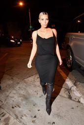 Kim Kardashian Night Out Style - Craig